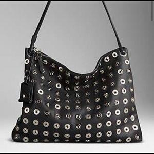 Burberry Eyelet Medium Aberford Bag